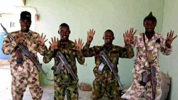 Nigerian Army Disown Four Soldiers Who Publicly Declared Support For Buhari 2