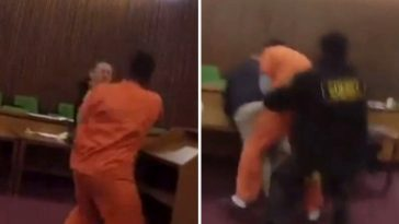 Man Attacks And Punches His Own Lawyer In The Court After Being Sentenced To 47 Years [Video] 6