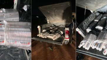 Police Intercepts Truck Filled With Explosives And Detonators In Delta State [Photos] 13