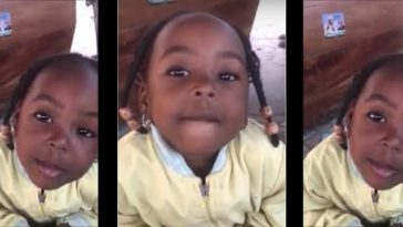 2-Year-Old Girl Says She will Vote Atiku Because Buhari is Wicked [Video] 7