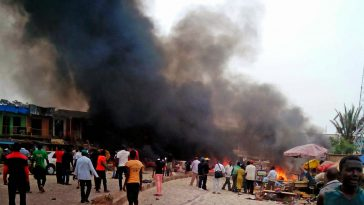 Maiduguri Under Attack On Election Day As Eleven Explosions Occur Within Ten Minutes 11