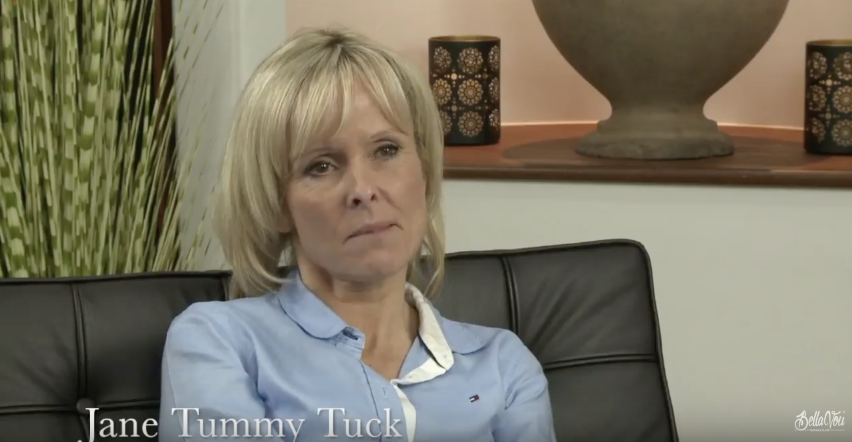 We talk to our patient Jane about her Tummy Tuck procedure