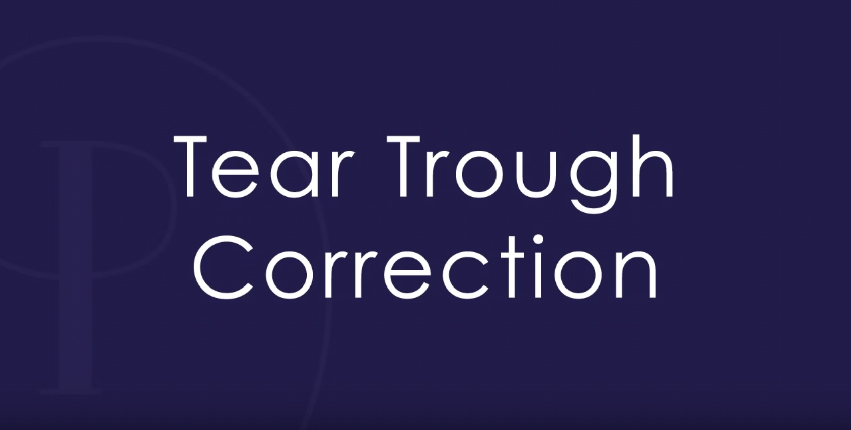 Tear Trough Correction by Heather Rypien