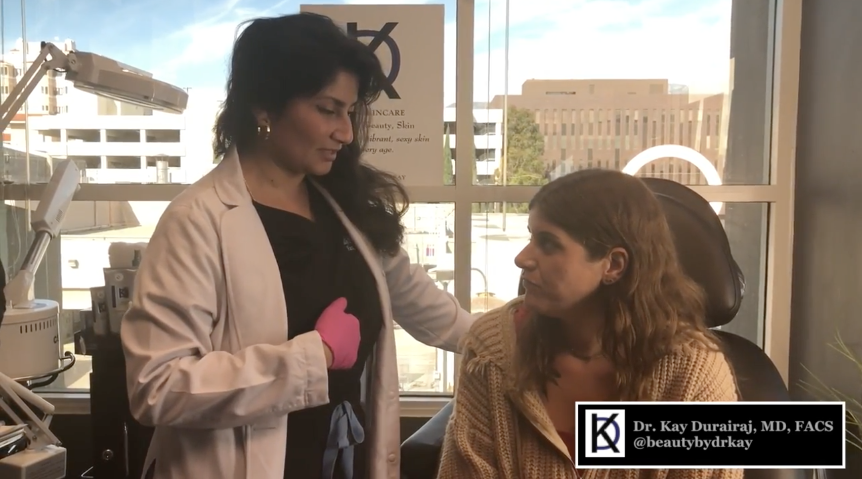 Behind the Scenes on a Beauty Consultation with Bethany Cosentino