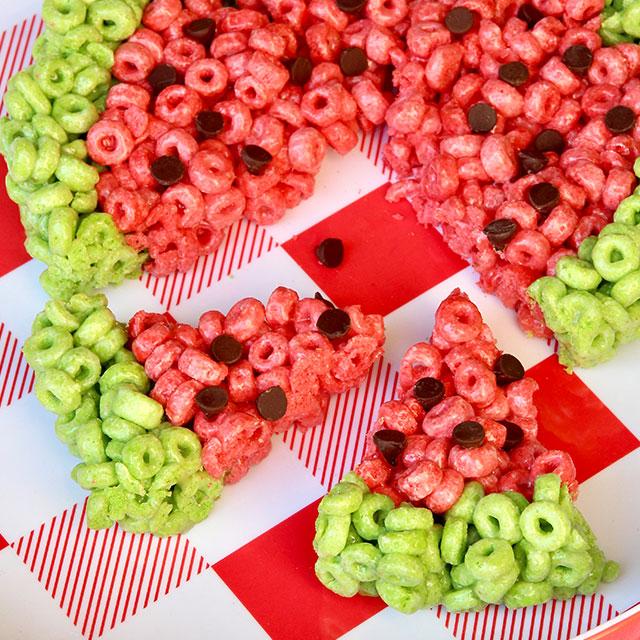 Watermelon No-Bake Treats