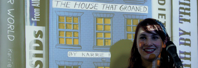 Foyles hosts The House That Groaned Launch Party!