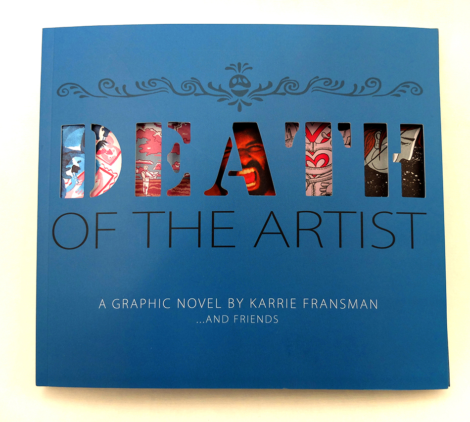 Death of the Artist Cover 950 pix width