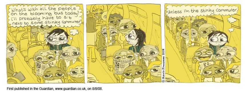 Guardian Published.7.Stinky on the bus