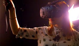 Virtual Reality Christmas Card
