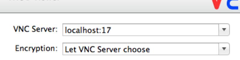 Vnc vncviewer mac initial screen