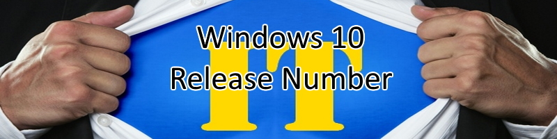 Windows10releasenumber