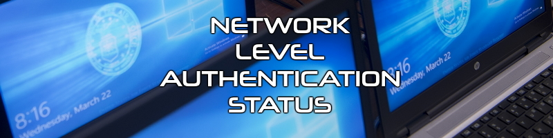 Network level authentication