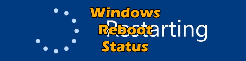 Pending reboot check