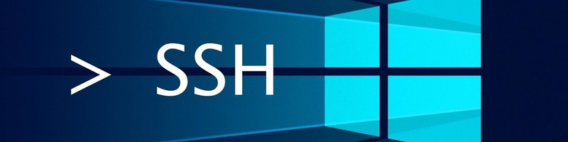 Windows10 install ssh