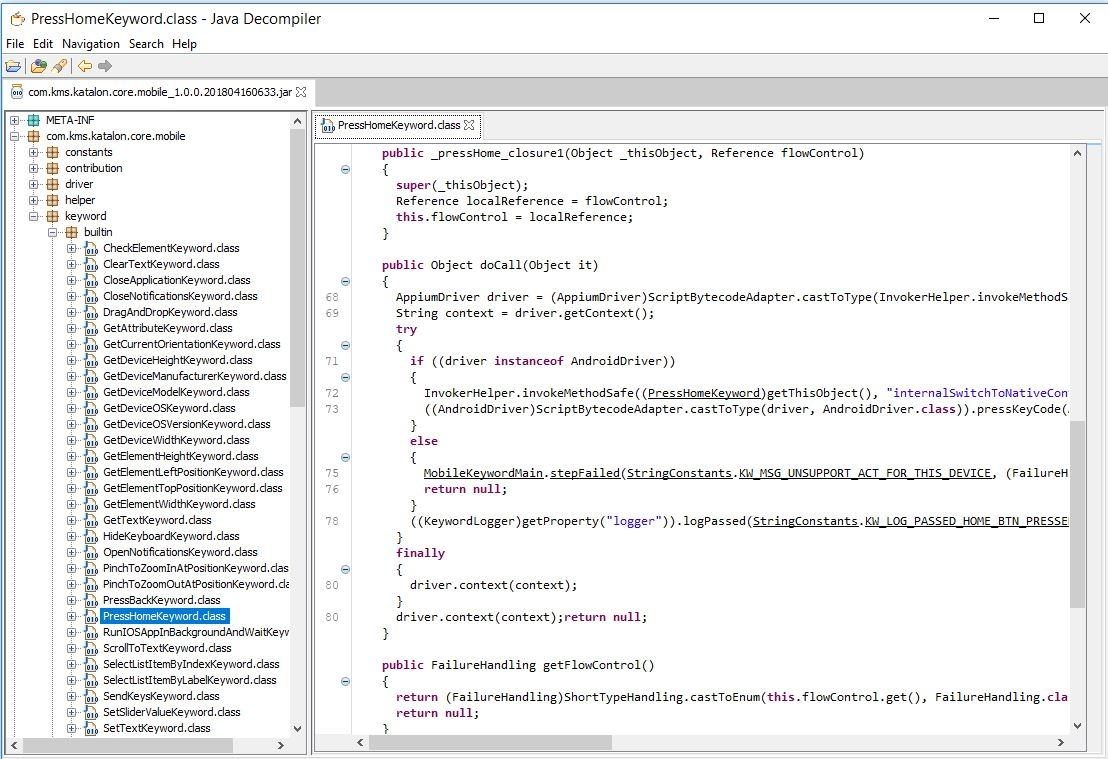 How do i view/edit the Built-In Keywords source code