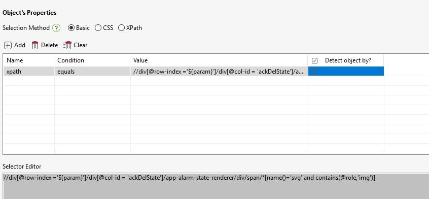 Xpath with variables  - Web Testing - Katalon Community