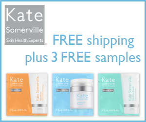 Kate Somerville - Free shipping plus 3 Free samples