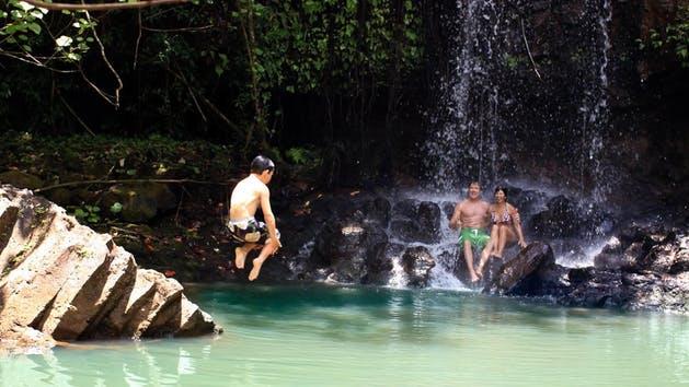 Product Kalihiwai Falls Hike
