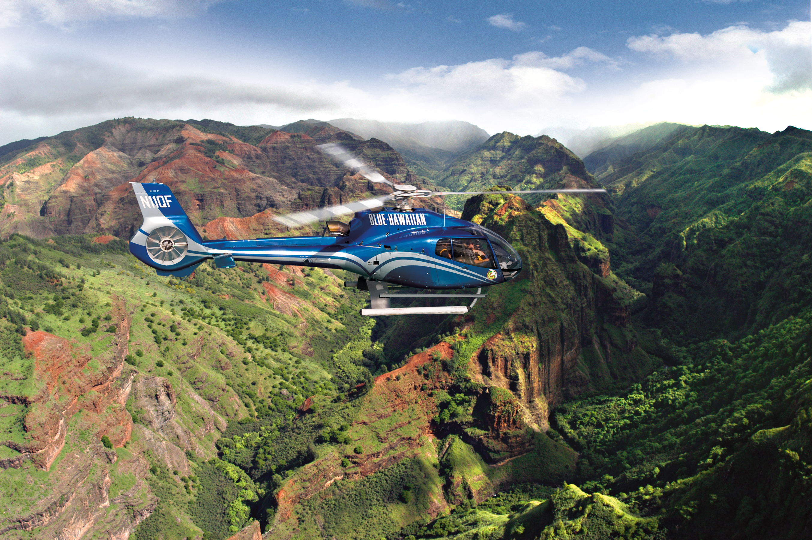 Product Helicopter Tour From Lihue