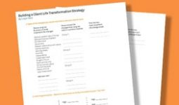 Building a Client Life Transformation Strategy Worksheet