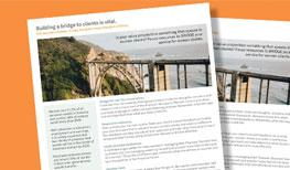 Client Engagement: Building a Bridge to Women