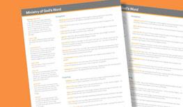 Biblical Giving Blueprint Client Tool