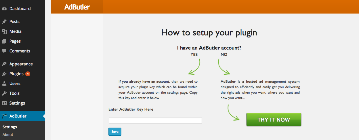 Setup your WordPress Plugig