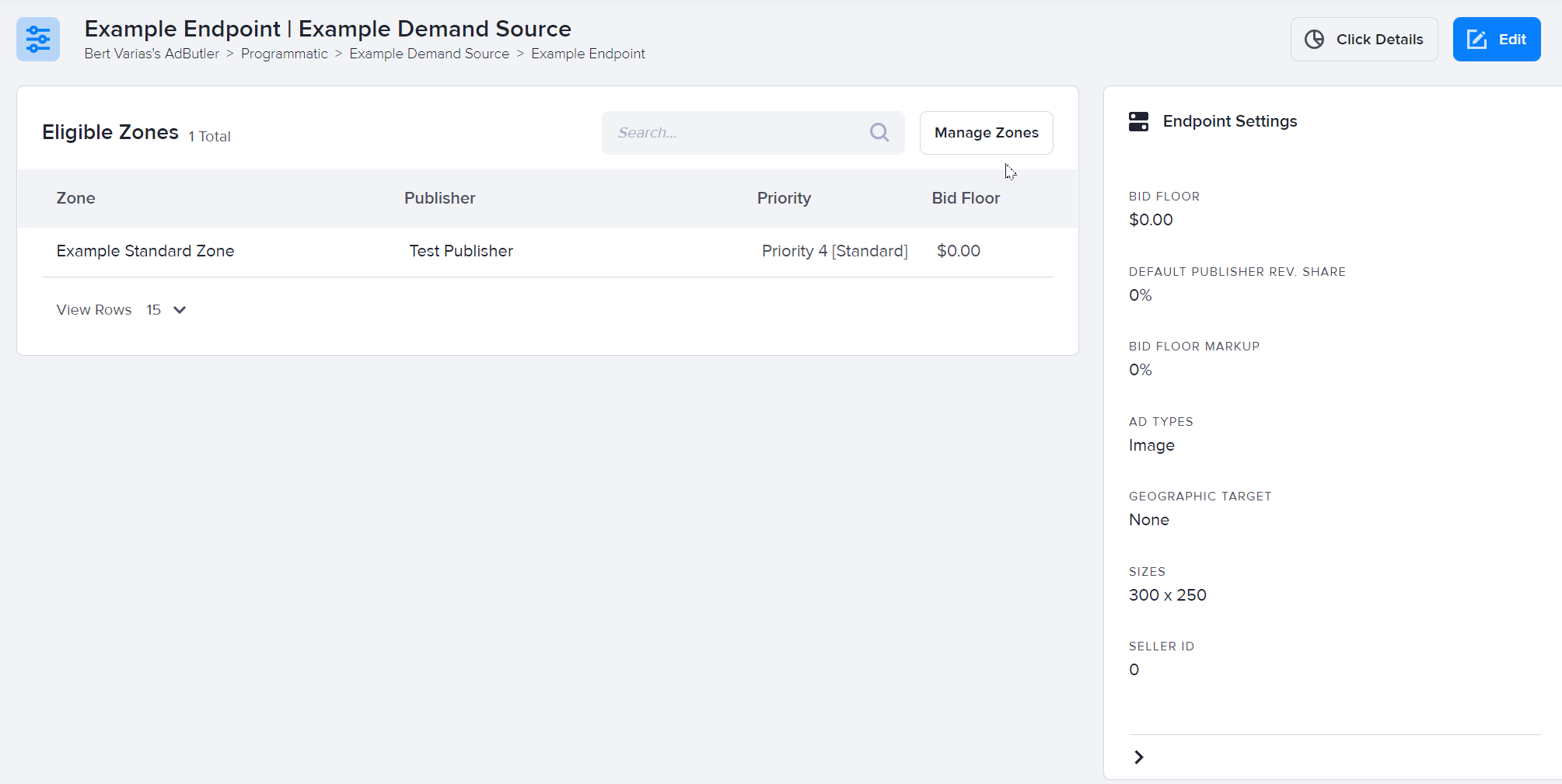 How to assign or exclude demand endpoints