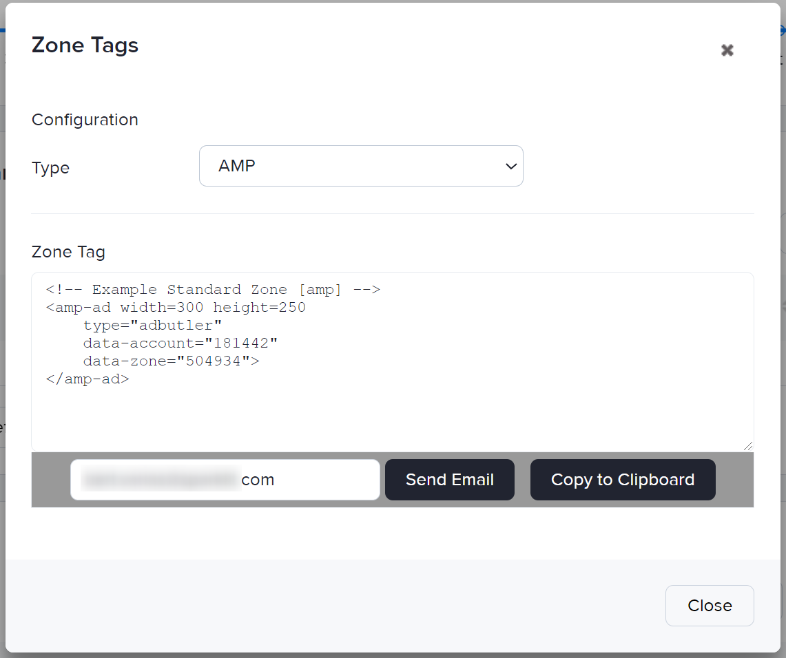 How to generate an AMP ad tag