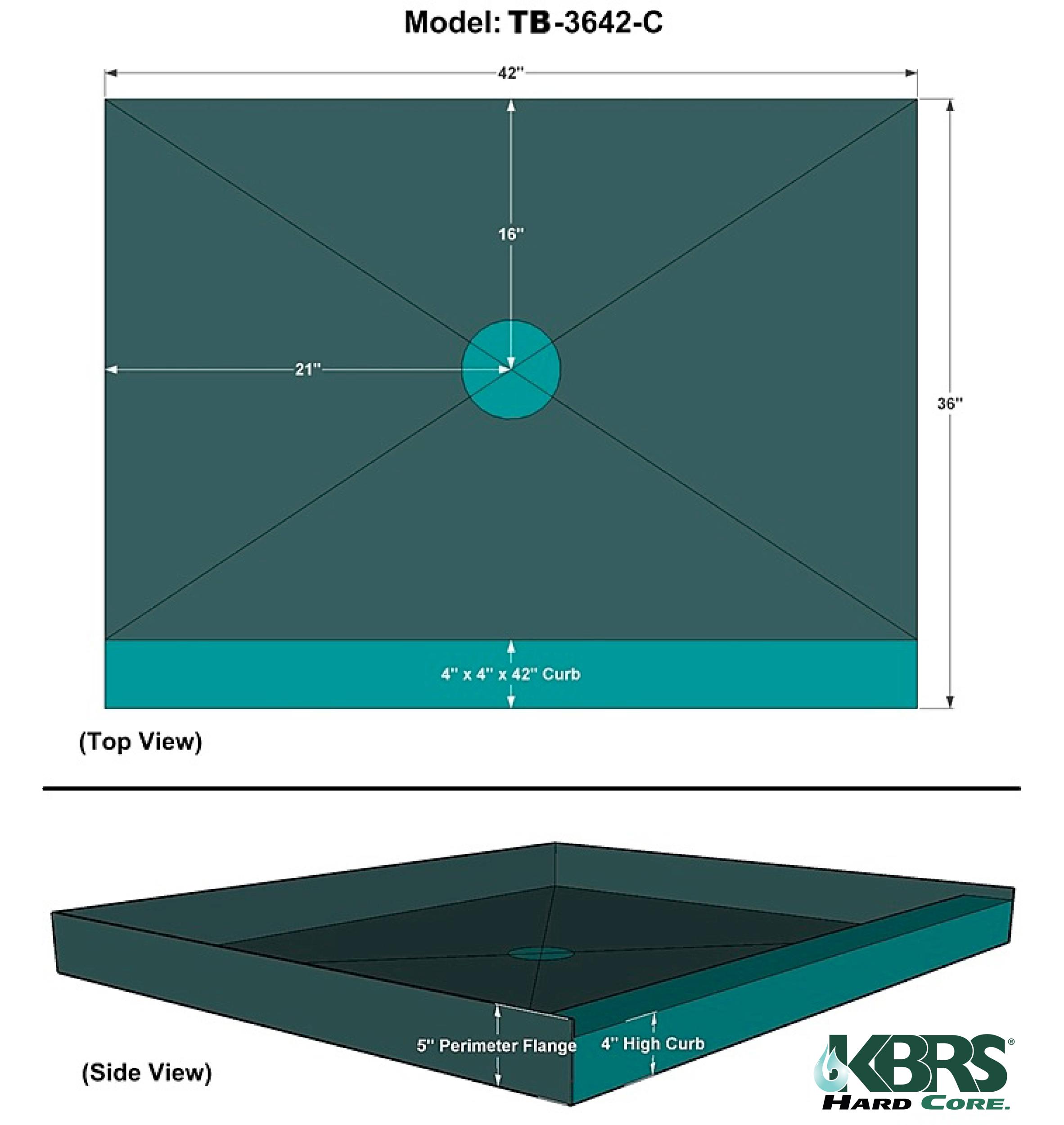 Kbrs Shower Base Order KBRS Tile-Basin&...