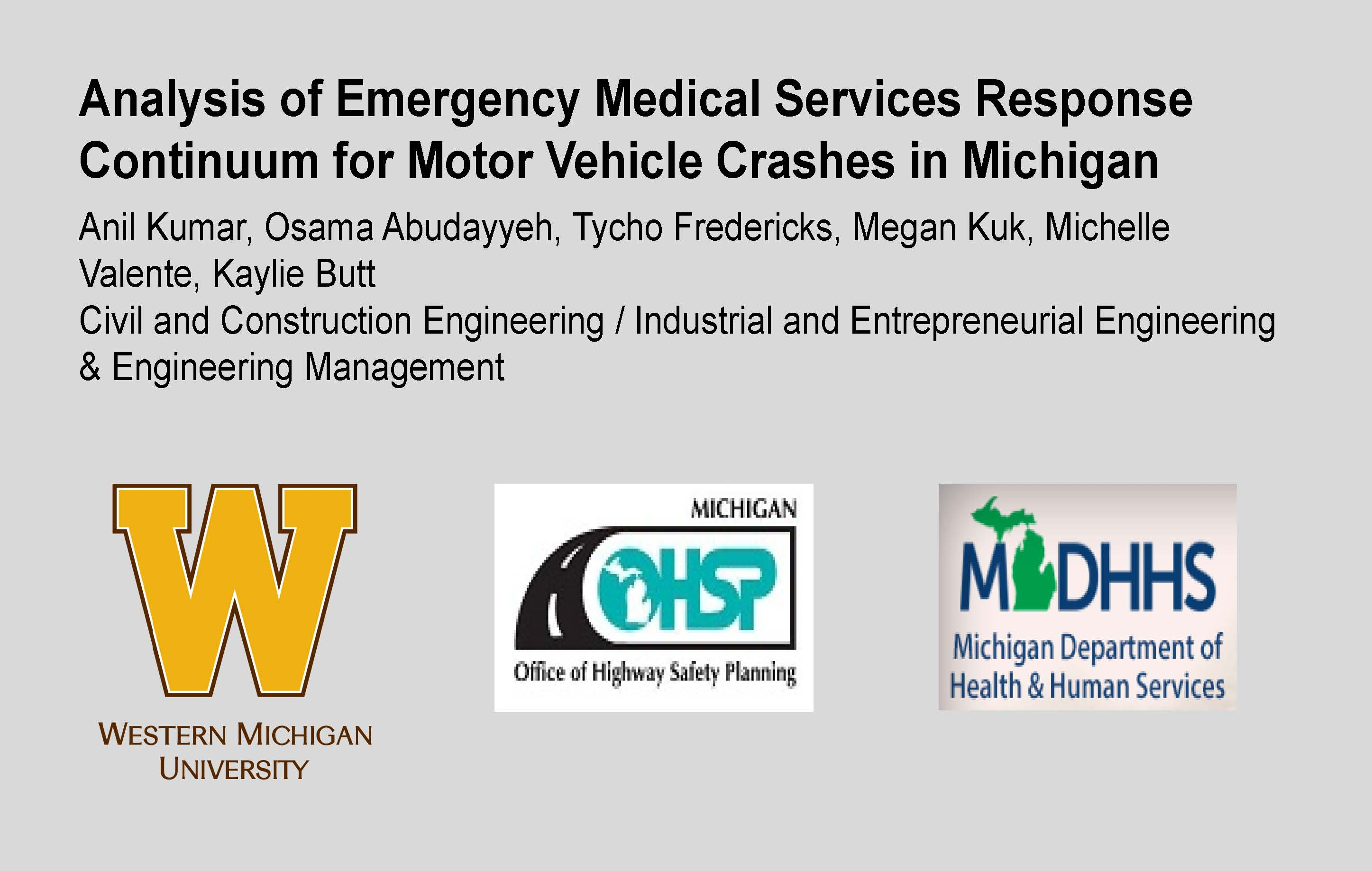Trend Analyses of Emergency Medical Services for Motor