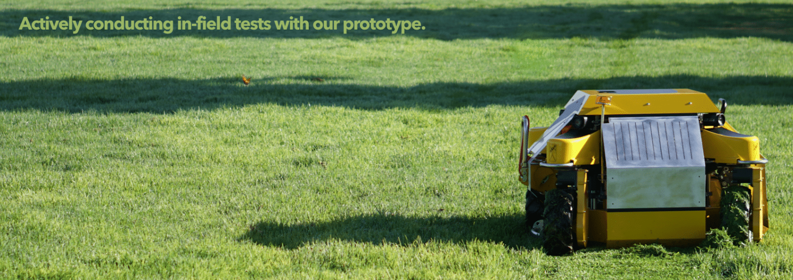Deal to Watch: Autonomous Lawn Mowers to Save Millions