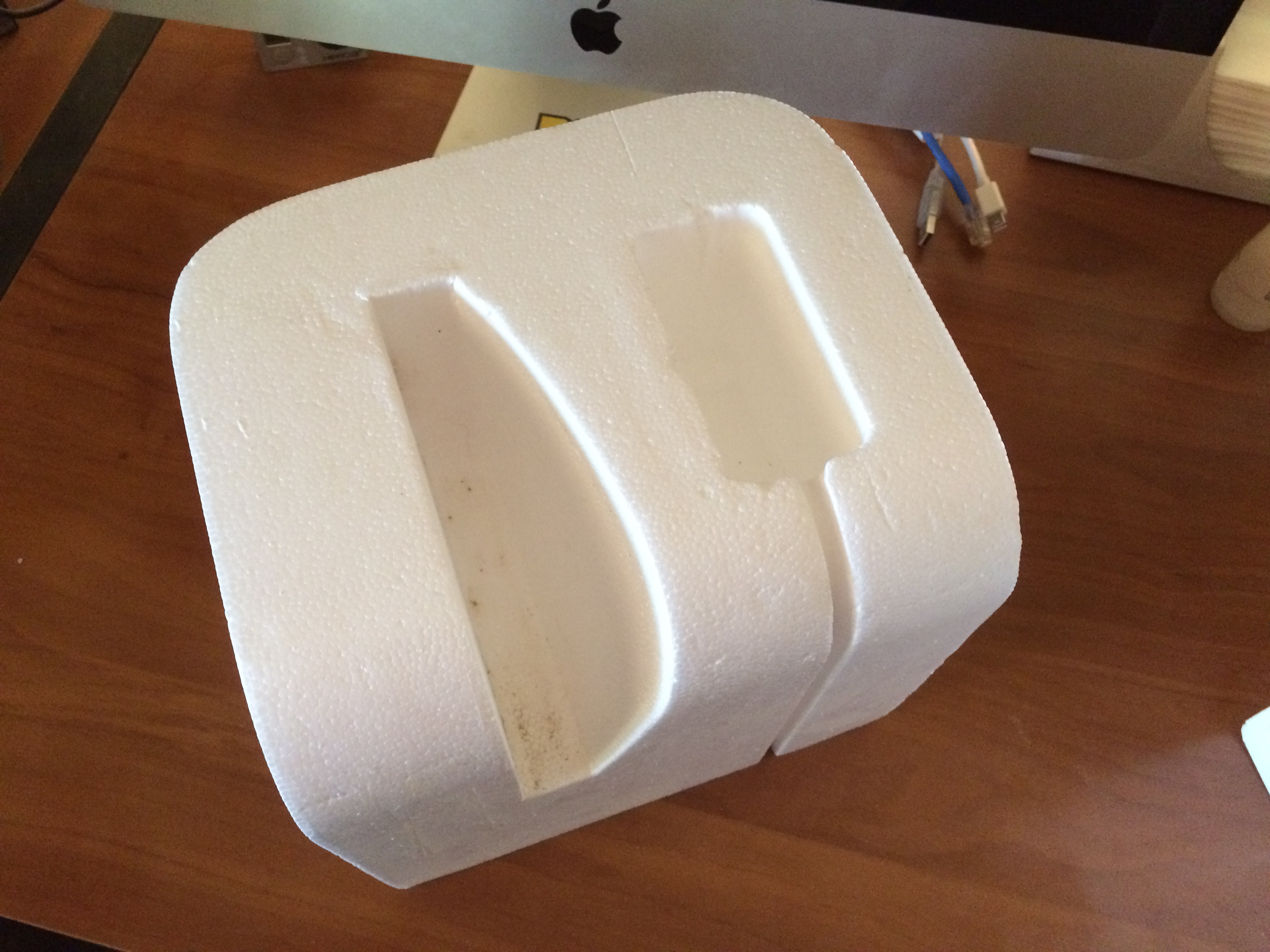 Bottom Left Styrofoam