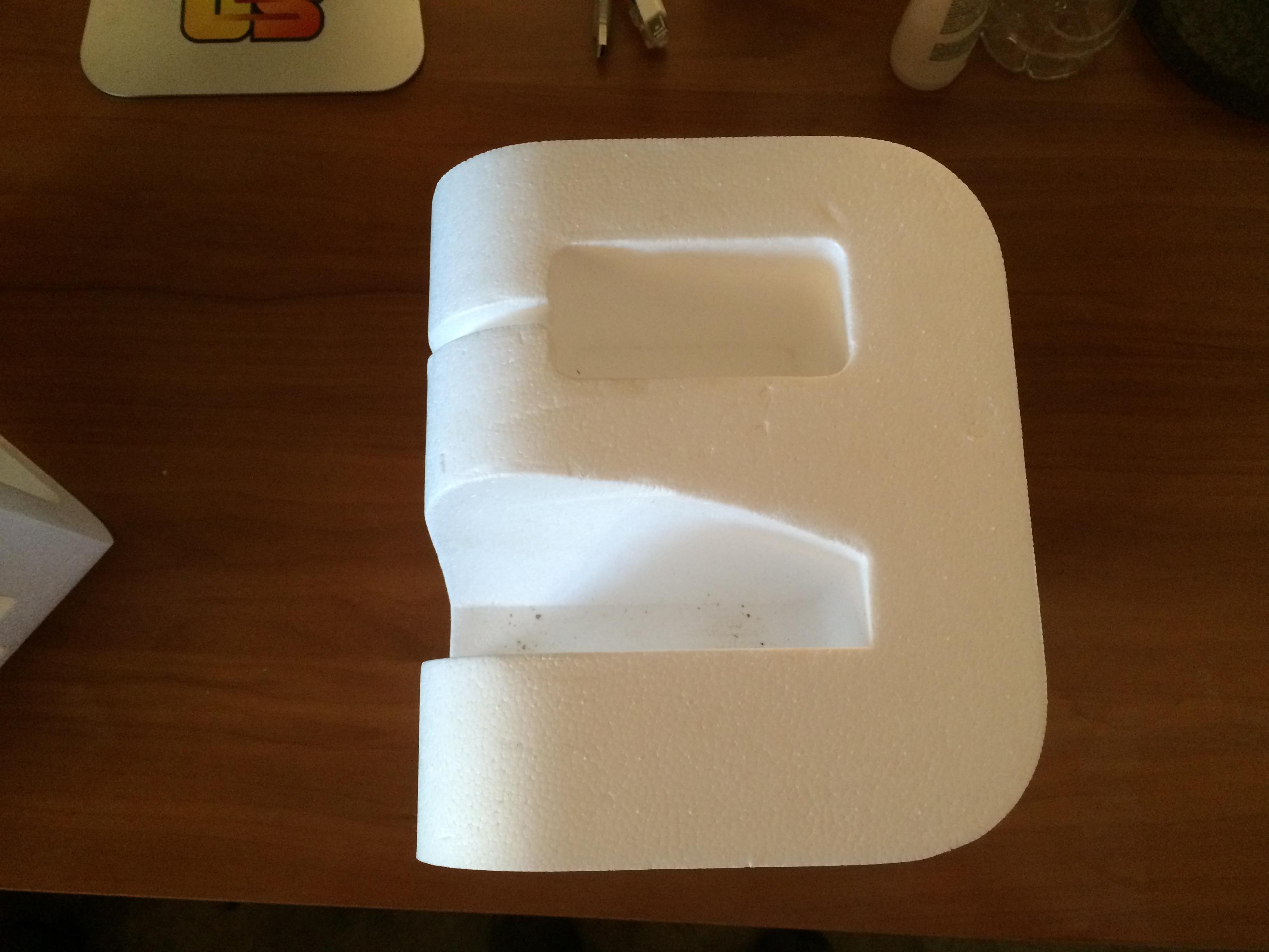 Bottom Right Styrofoam