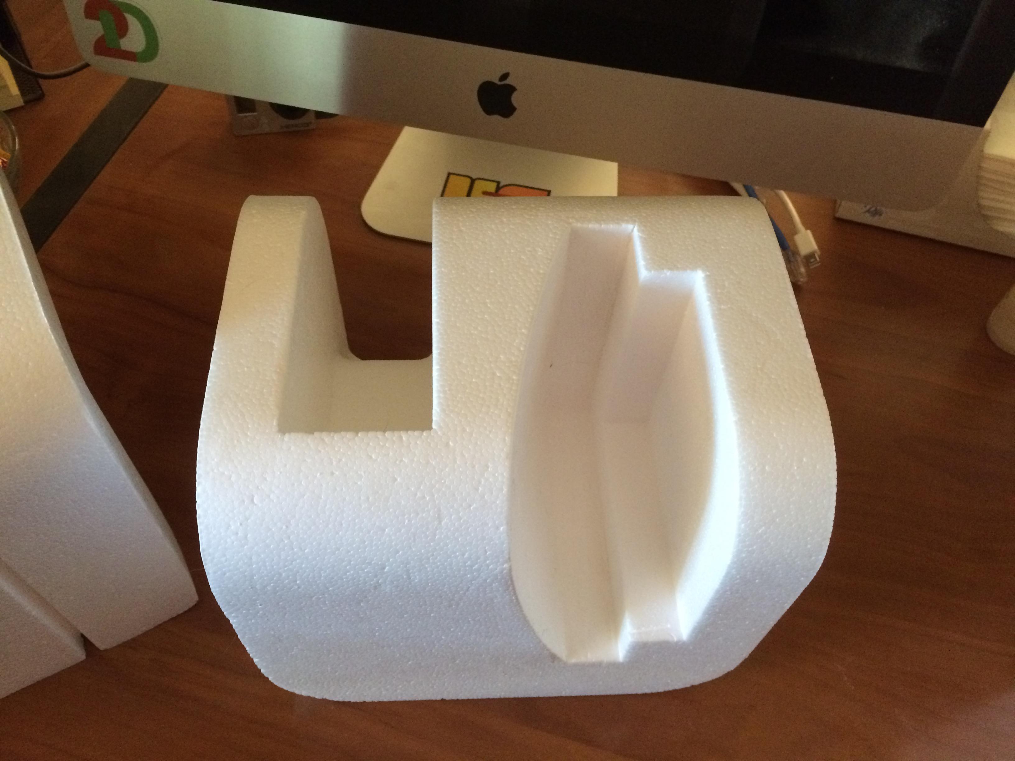 Top Left Styrofoam