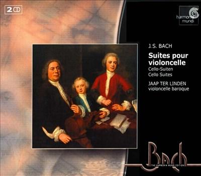 Cello Suites - Cd Used - Bach - Classical Music Used UD013322