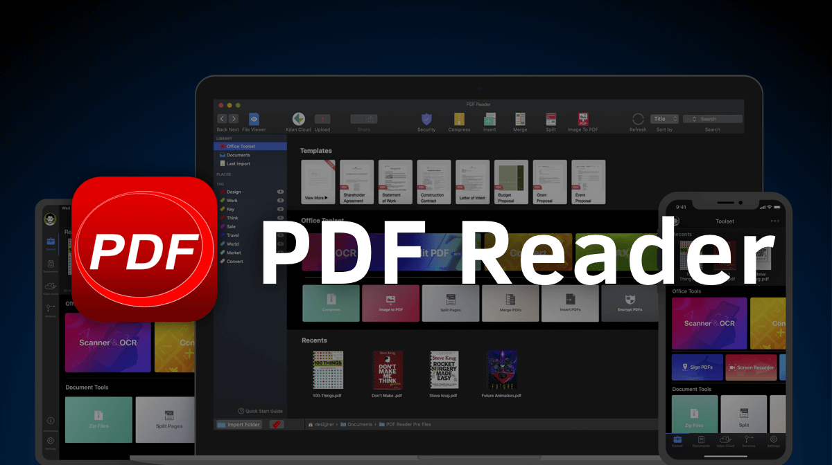 Kdan PDF Reader | The Best PDF Editor