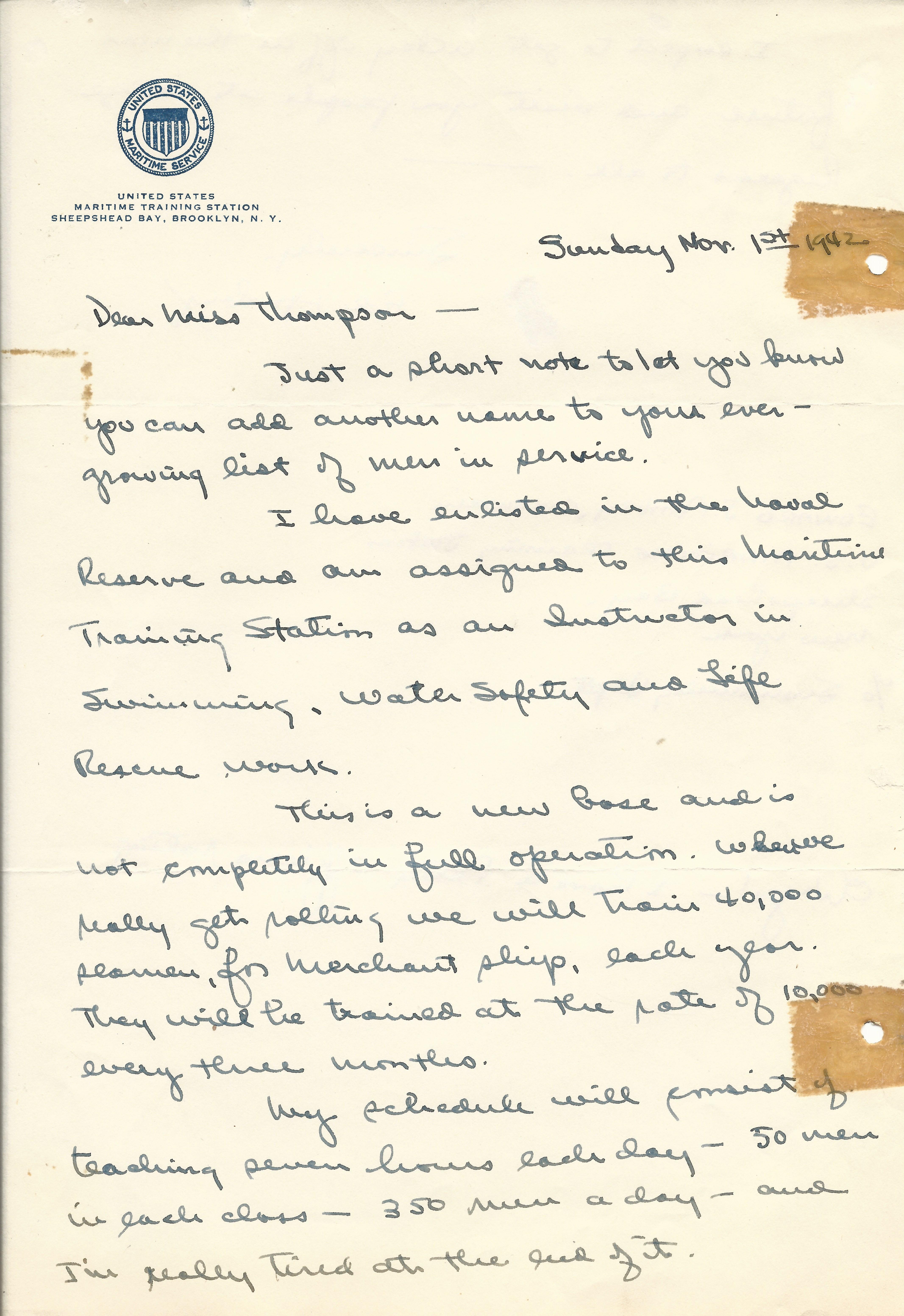 Edward Ambry November 1 1942