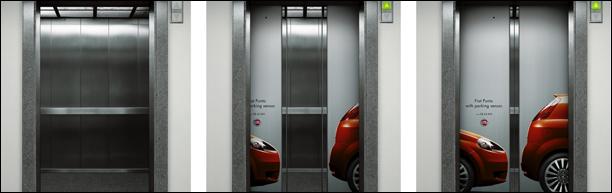 ALERTA! «Normas de sentido común para el uso de un ascensor»