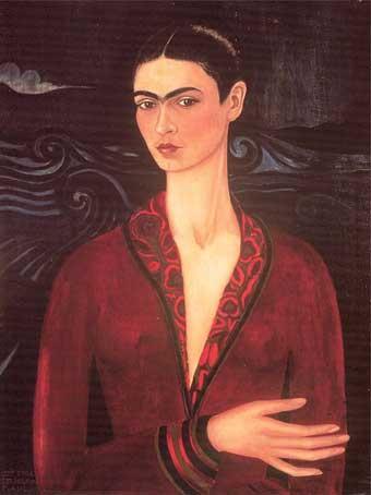 Homenaje a Frida Kahlo en su día.