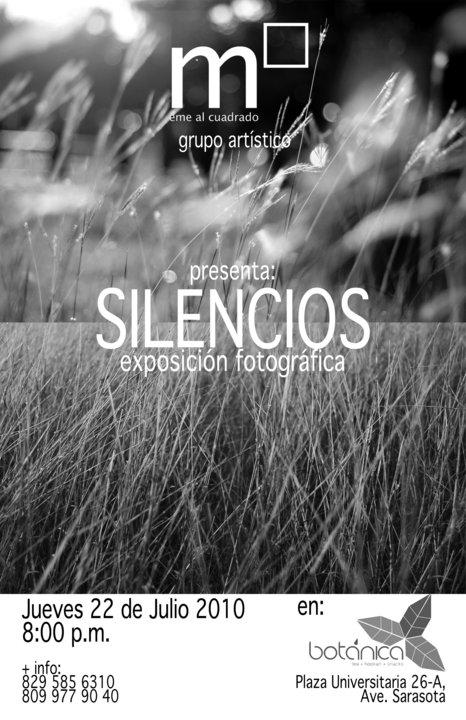 «Silencios»: exposición fotográfica