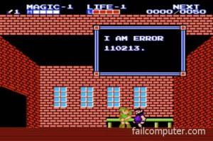 Zelda error