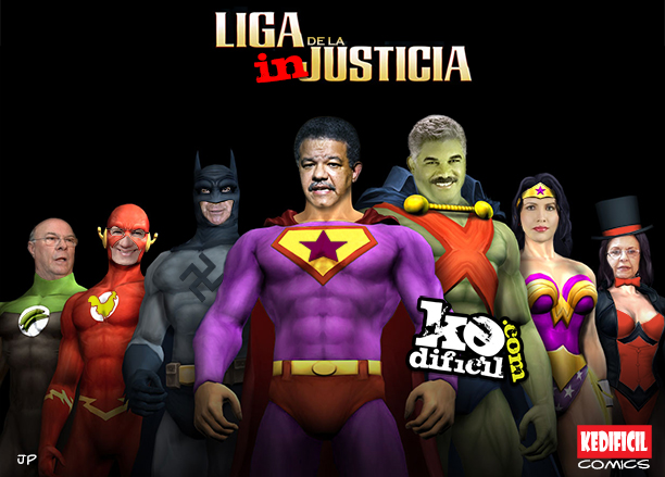 Liga de la INjusticia (Nuevos comics)