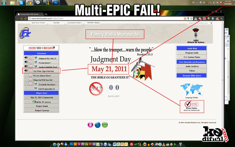 21 de Mayo: FAIL!