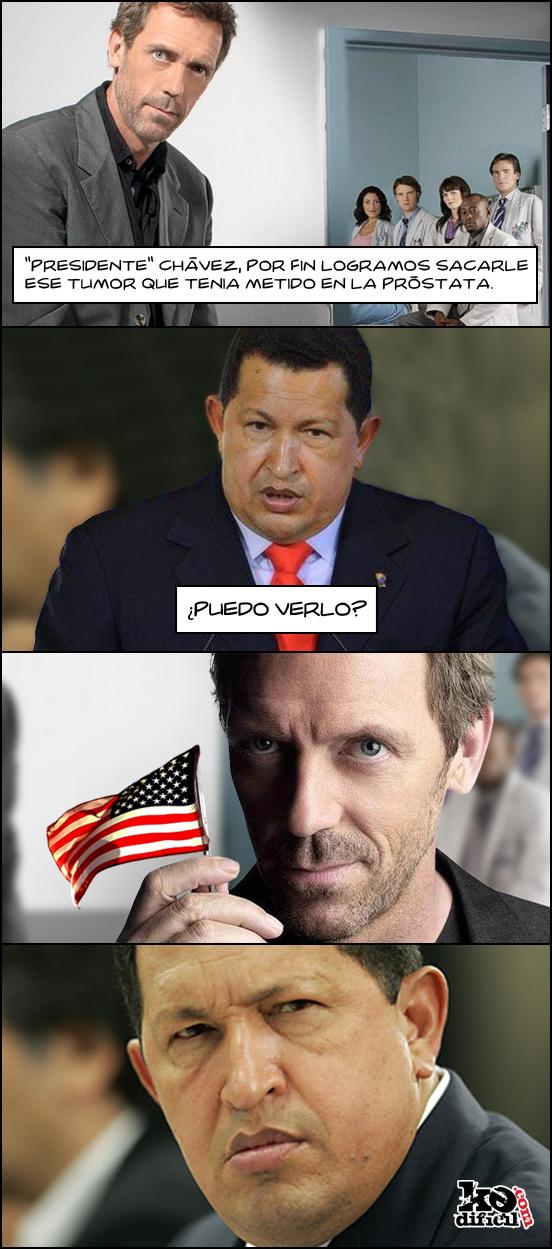 La verdad sobre el cáncer de Chávez