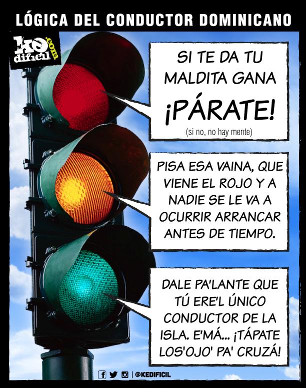 Lógica del conductor dominicano