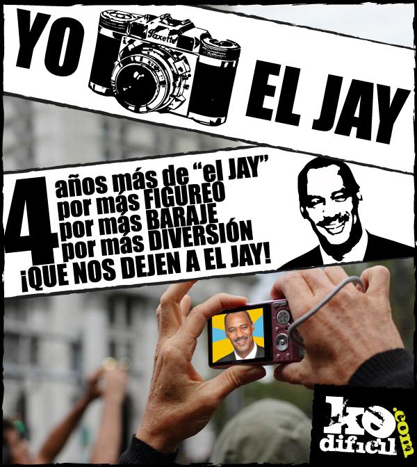 """Decreto: KeDificil sería la vida sin """"el Jay""""."""
