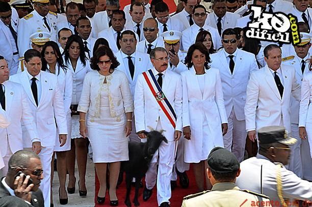 Toma de posesión de Danilo Medina