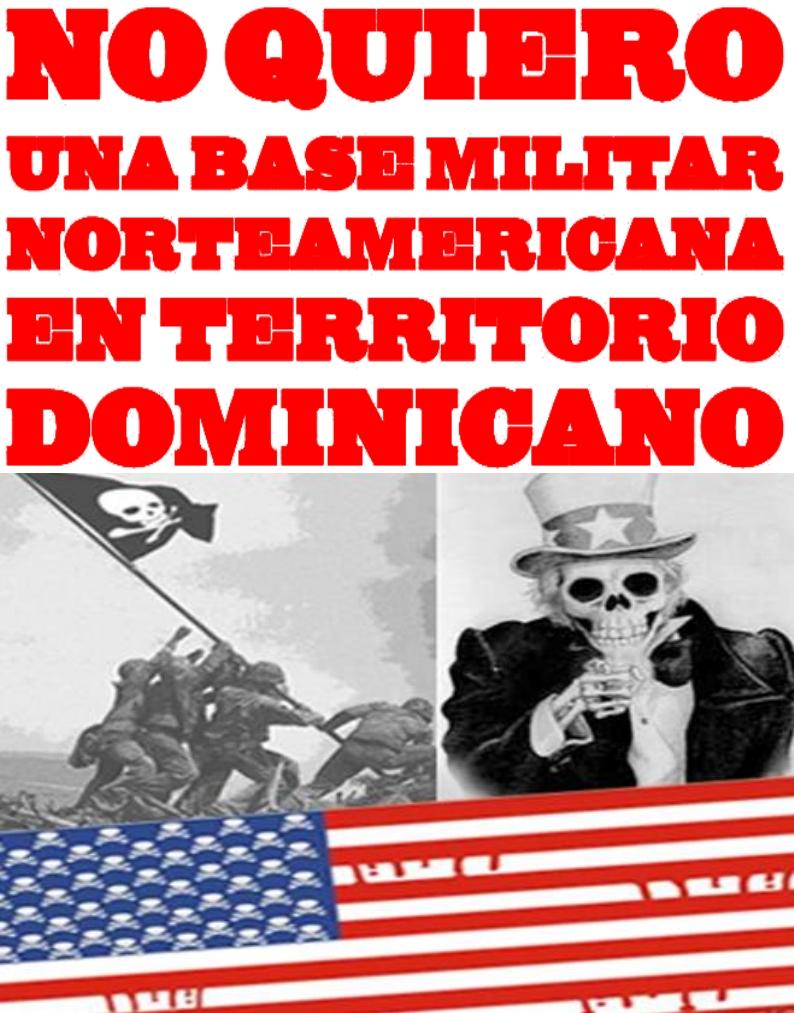 Patrióticamente haber protestado contra una base militar americana en la Isla Saona que solo existió en un titular mal escrito de Diario Libre… por ejemplo…