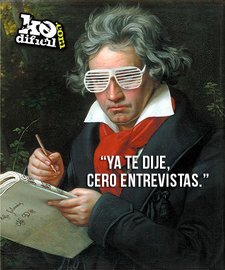 Biografía difícil de Beethoven: El primer músico amargao'